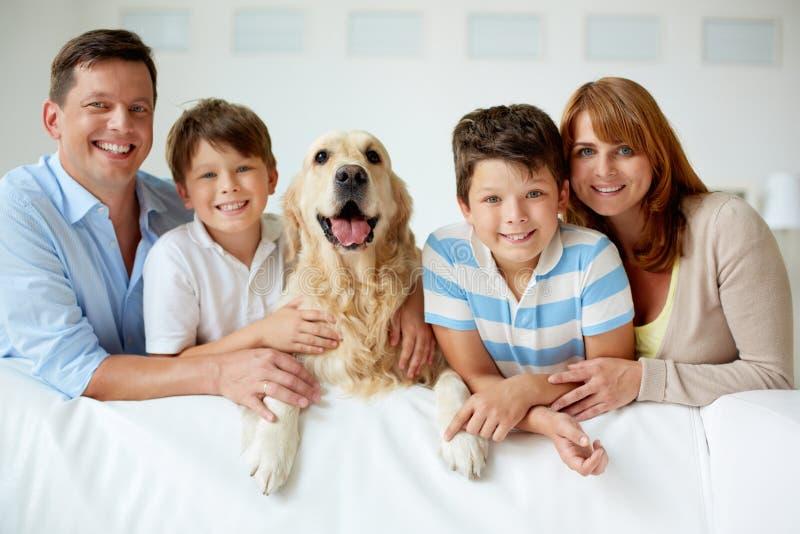 Grand famille photographie stock libre de droits