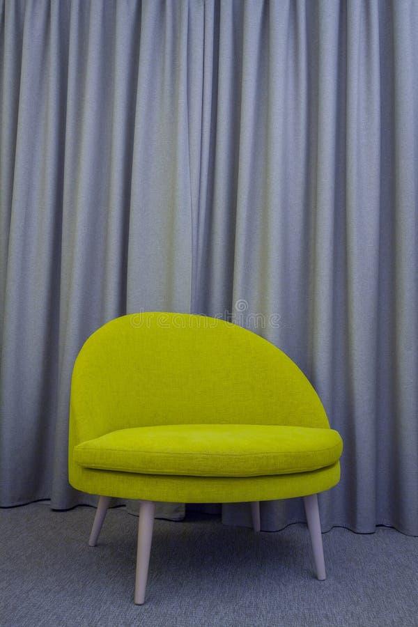 Grand fauteuil vert moderne illustration de vecteur