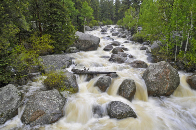 Grand fleuve de Thompson photographie stock