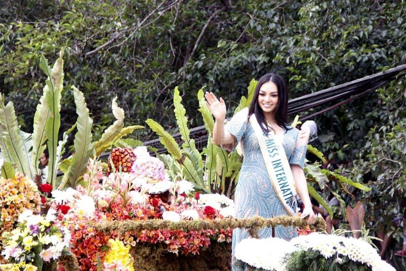 Grand Flower Float Festival stock photo