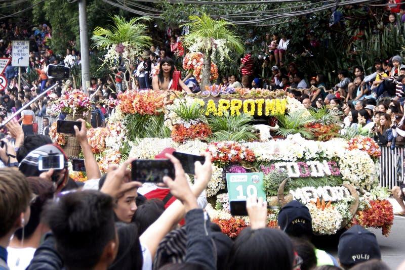 Grand Flower Float Festival stock image