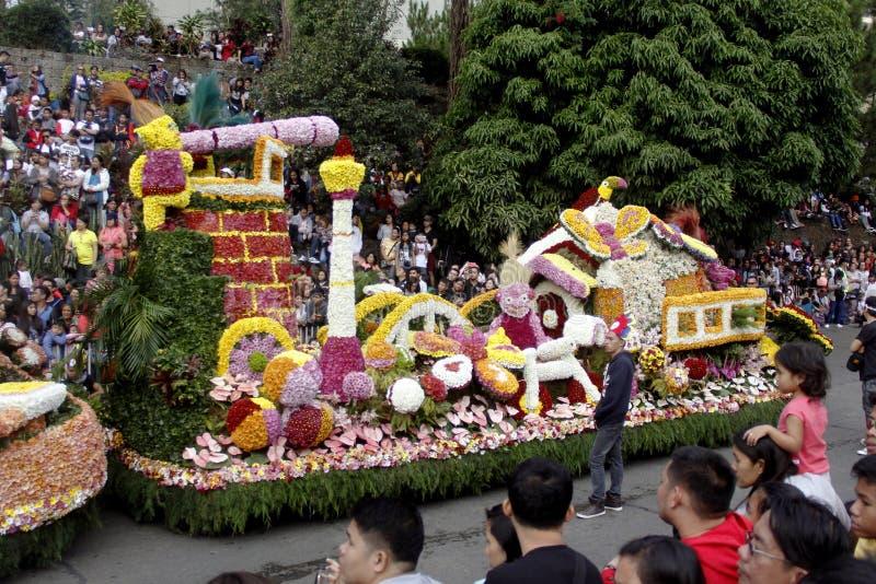 Grand Flower Float Festival royalty free stock photos