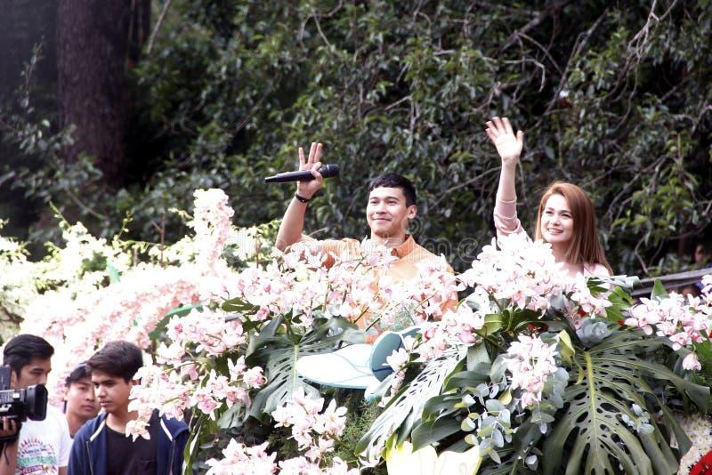 Grand Flower Float Festival royalty free stock image