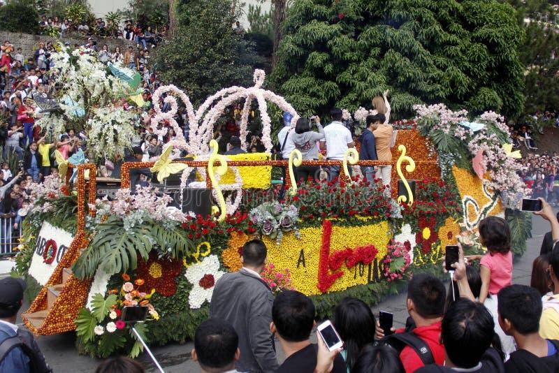 Grand Flower Float Festival royalty free stock images