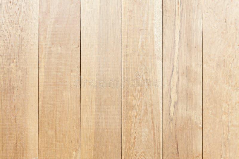Grand fond en bois de texture de mur de planche de Brown image libre de droits