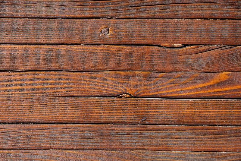 Grand fond en bois de texture de mur de planche de Brown images stock