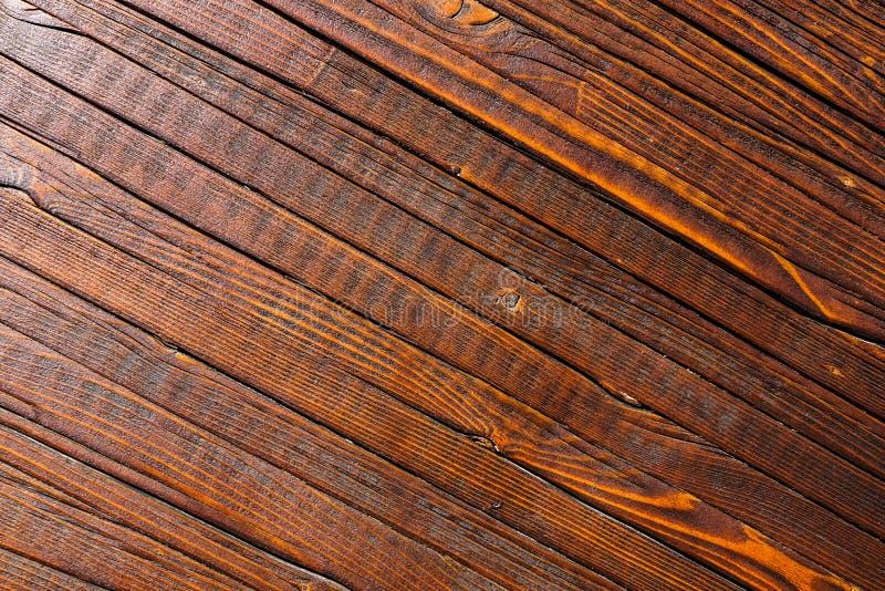 Grand fond en bois de texture de mur de planche de Brown images libres de droits