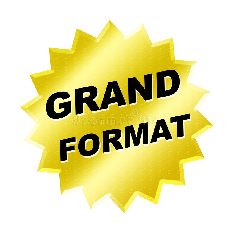 Download Grand Format Sign Stock Images - Image: 6177114