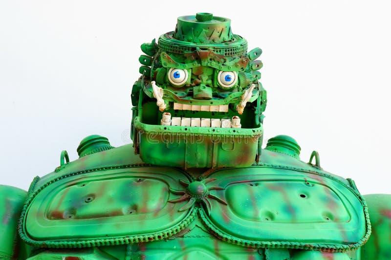 Grand géant avec la couleur verte photo stock