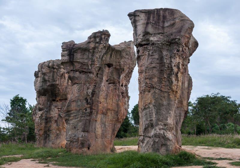 Grand grès de colonne image stock