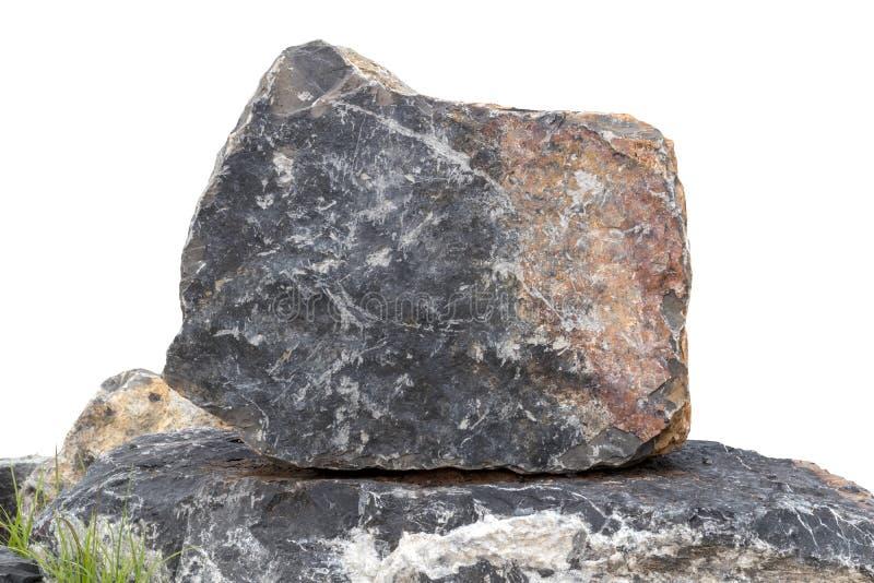 Grand granit d'isolat fort image libre de droits