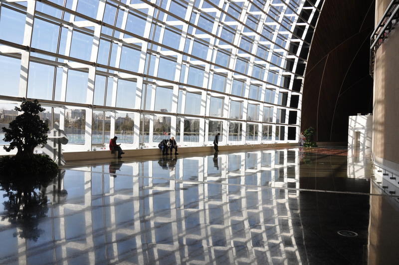 Grand Hall In Beijing National Opera House Stock Photos