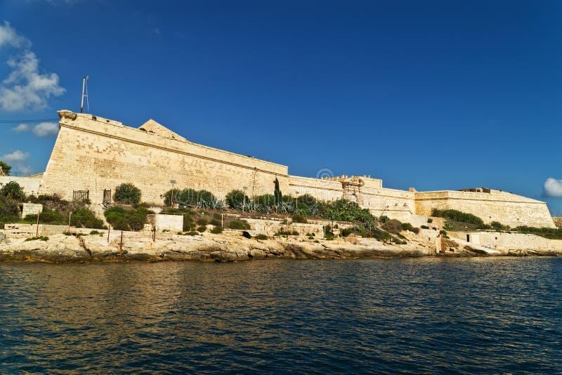 Download Grand harbour bastions stock image. Image of coastline - 16839319