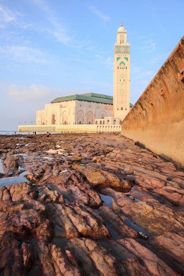 Grand Hassan II photo libre de droits