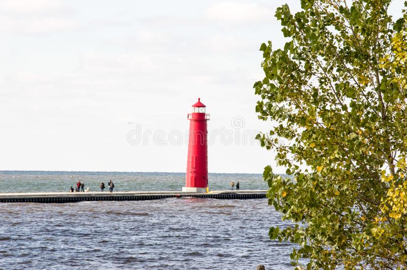 Grand Haven royalty free stock photo
