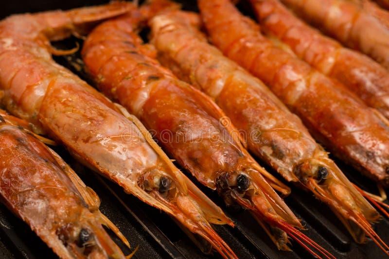 Grand homard réglé sans couture avec la rangée principale du plan rapproché appétissant délicieux de casse-croûte de délicatesses photo stock