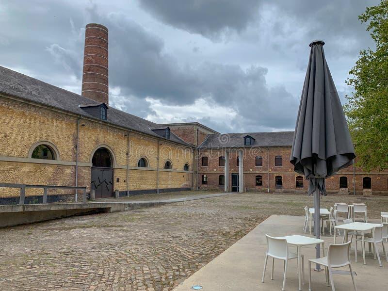 Grand Hornu, Mons, Bélgica imagens de stock