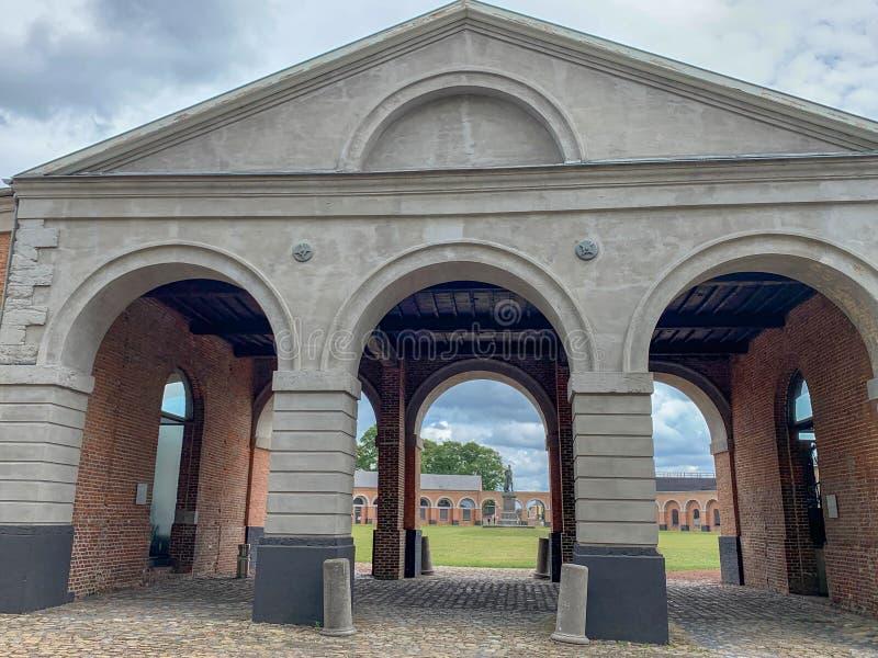 Grand Hornu, Mons, Bélgica fotos de stock royalty free