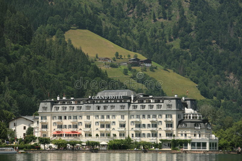 Download Grand Hotel editorial stock image. Image of alps, water - 14128694