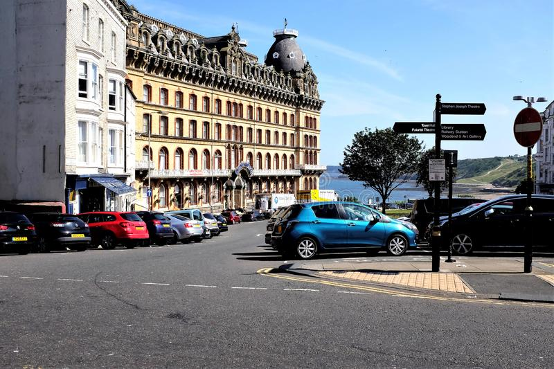 The Grand Hotel Scarborough Yorkshire Uk Editorial Photo Image Of Grade Architecture 154420291