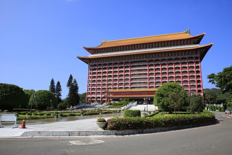 The Grand Hotel in Taipei. The Grand Hotel of Taipei in Taiwan stock photos