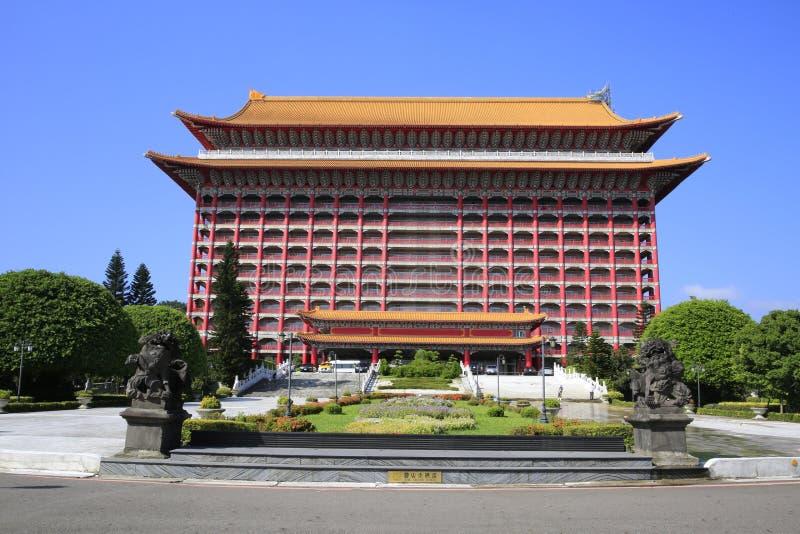 Grand Hotel of Taipei. The Grand Hotel of Taipei in Taiwan royalty free stock photos