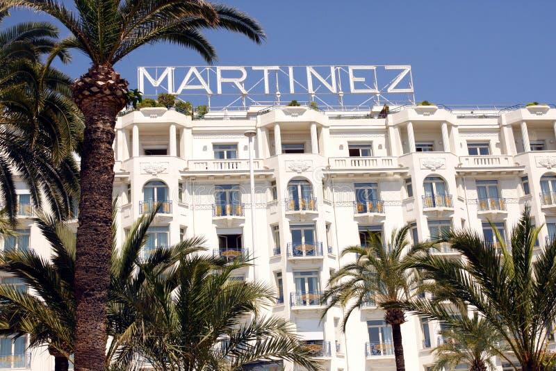 Grand Hyatt Cannes HÃ'tel Marti'nez foto de stock royalty free