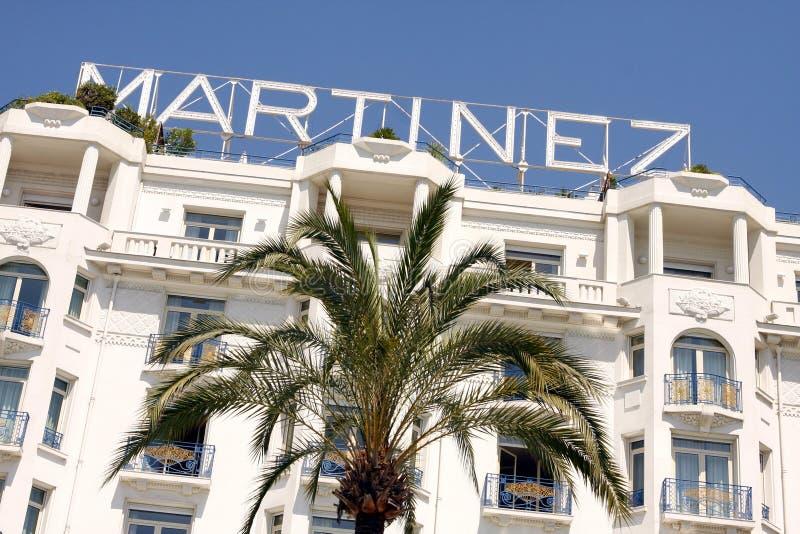 Grand Hyatt Cannes HÃ'tel Martinez fotografia stock libera da diritti
