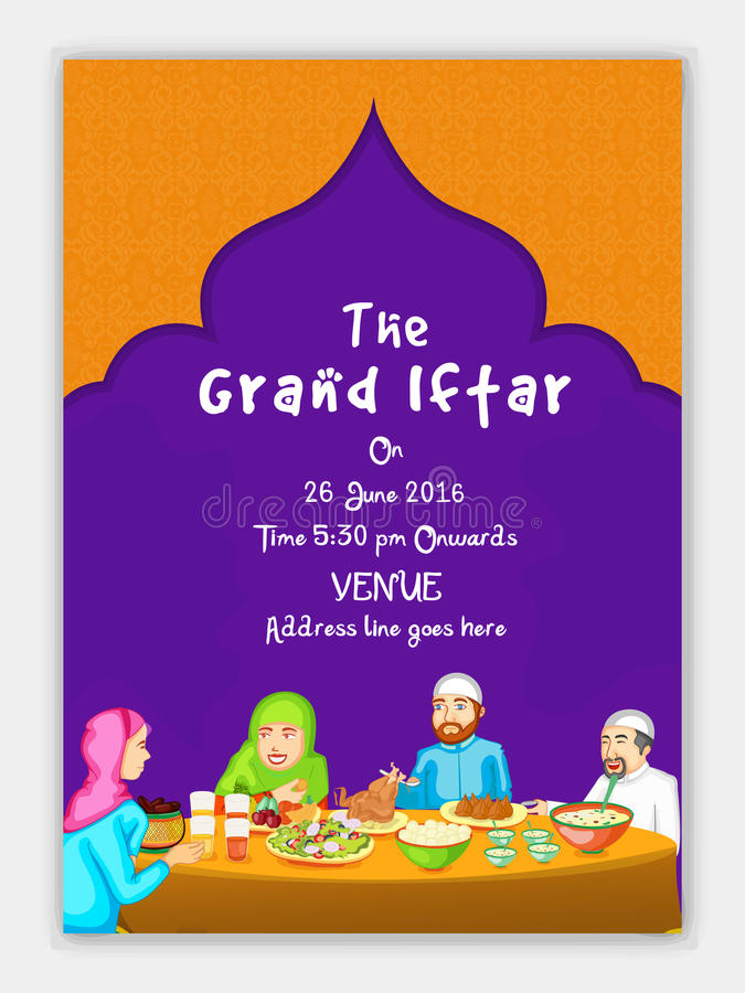 The grand iftar invitation card design stock illustration download the grand iftar invitation card design stock illustration illustration of community flyer stopboris Image collections