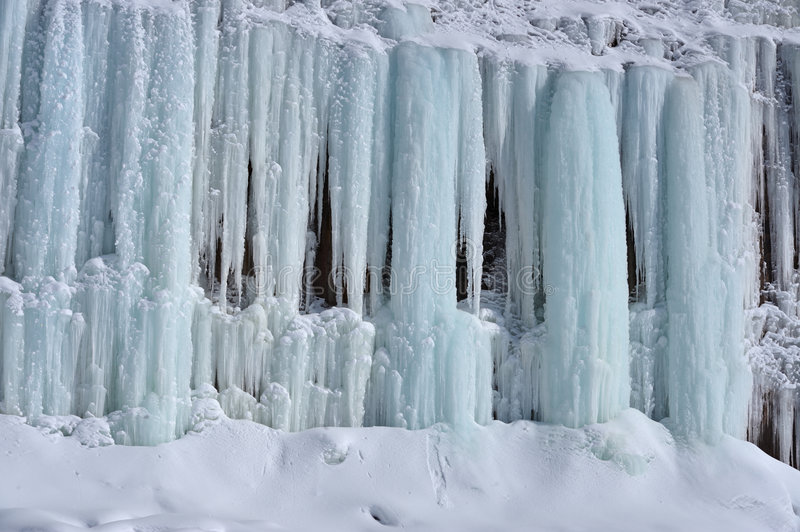 Grand Island Ice Cave royalty free stock photography