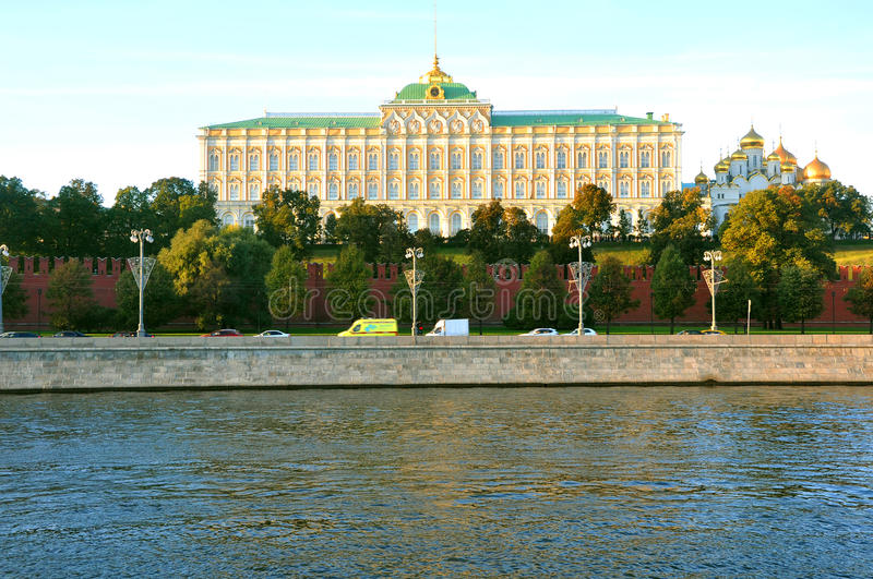 Grand Kremlin Palace. Moscow. Russia stock images