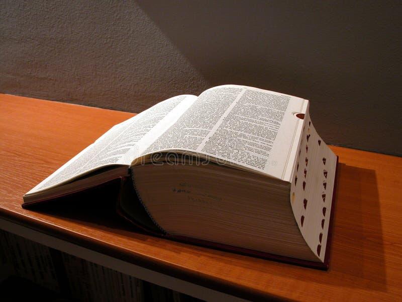 Grand livre image libre de droits