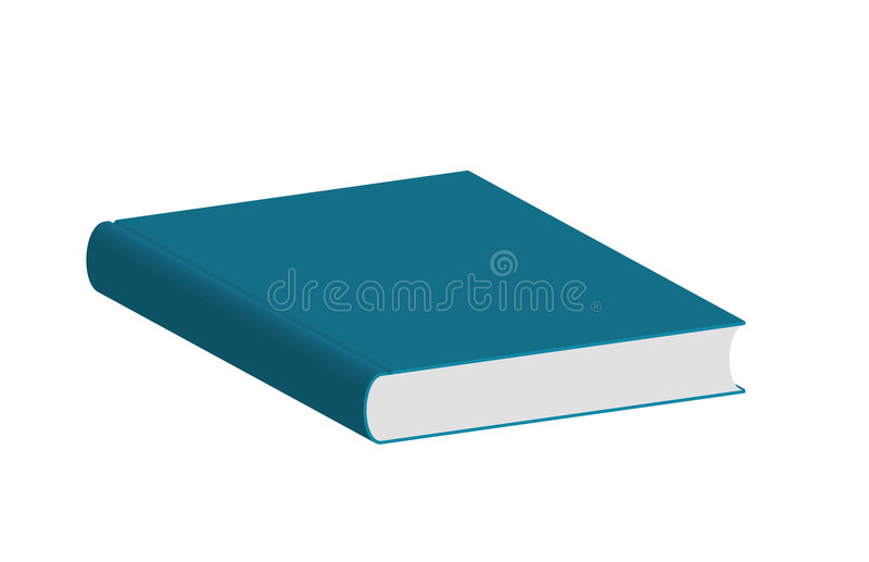 Grand livre illustration libre de droits