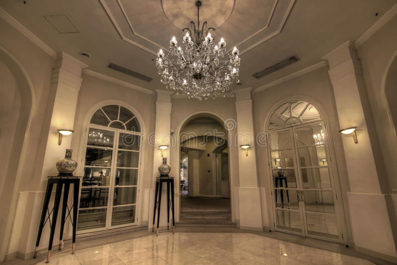 Grand Lobby Foyer stock images