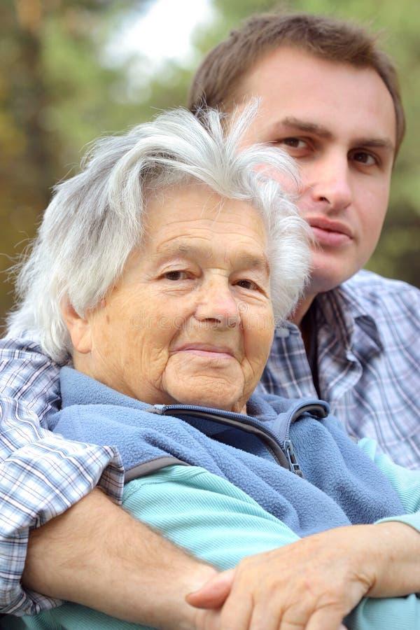 Grand-mère photos stock