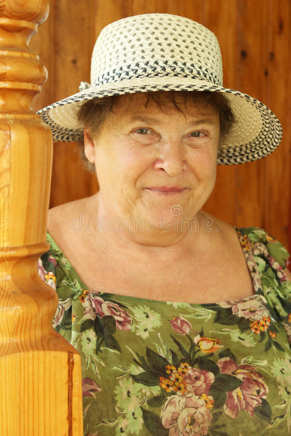 Grand-mère Aimée Photographie stock