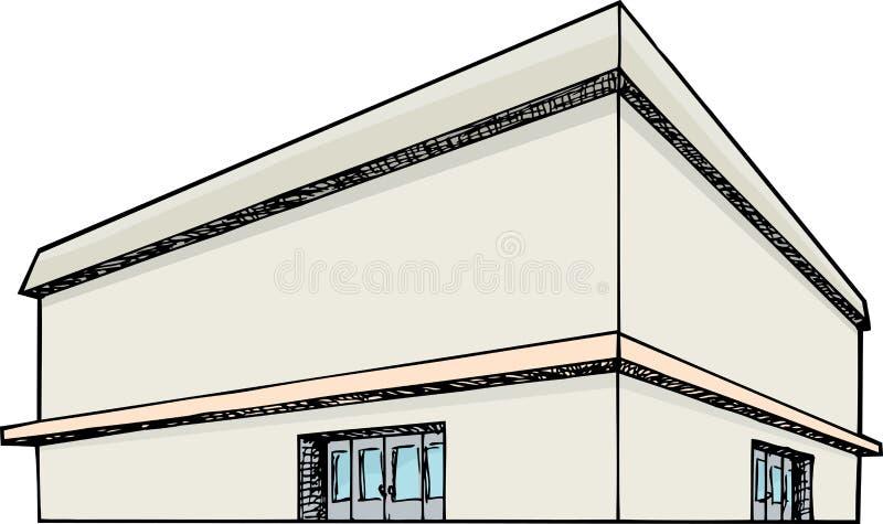 Grand magasin illustration libre de droits