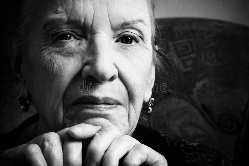 Grand-maman image libre de droits