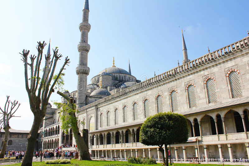 Grand mosk d'Istanbul. photos stock
