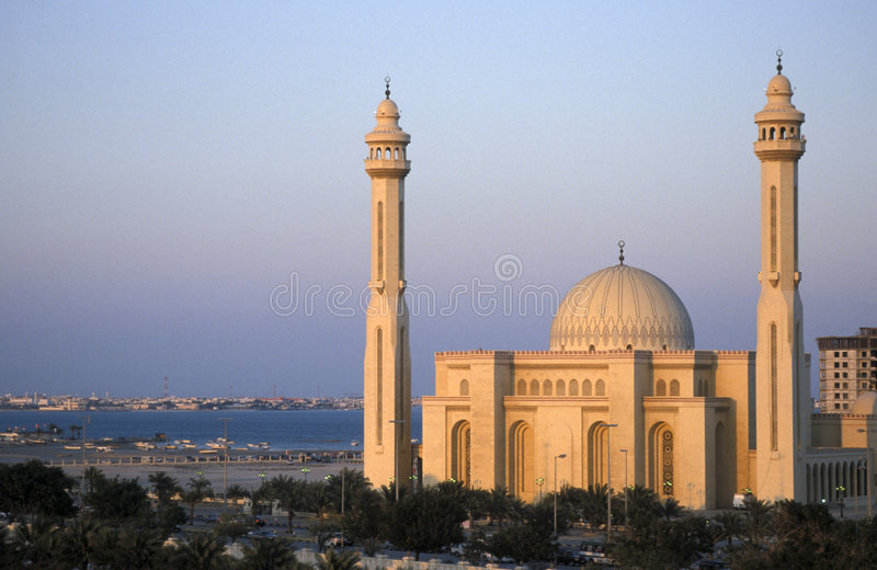 Download Grand Mosque Bahrain stock photo. Image of bahrain, culture - 3430698