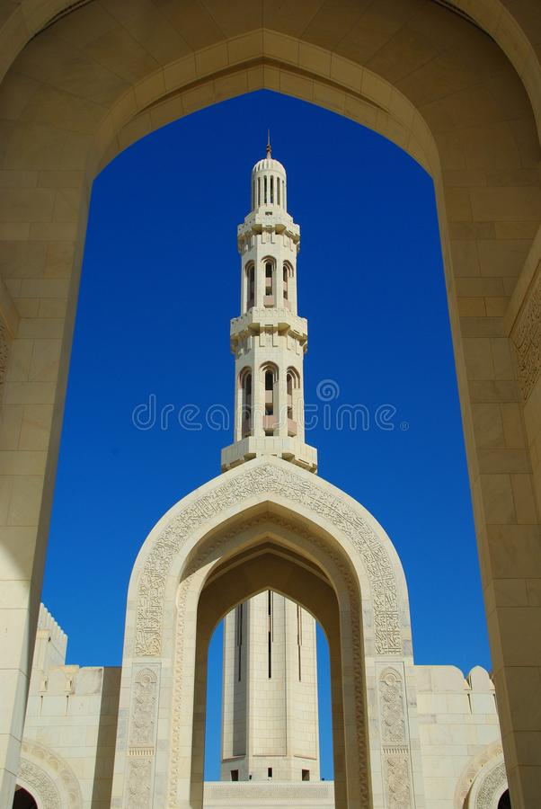 Free Grand Mosque, Muscat Royalty Free Stock Photography - 14258087