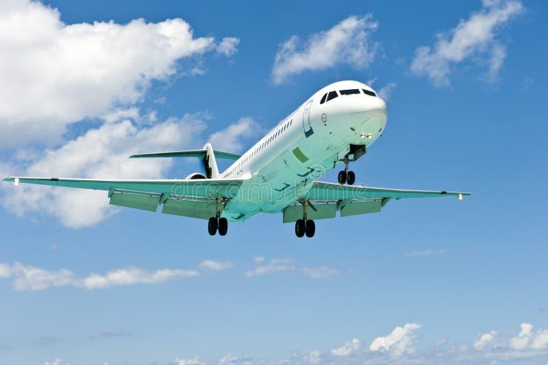 Grand nez d'avion photo libre de droits
