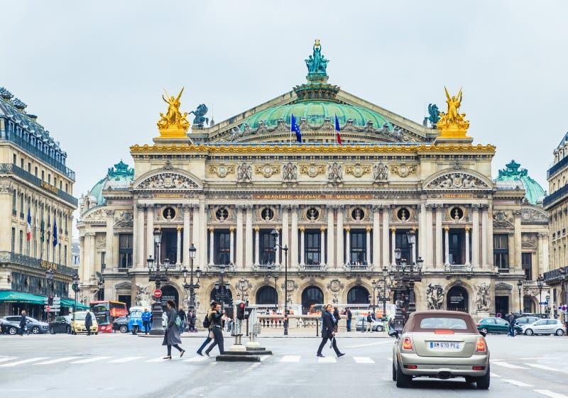 Grand opéra Garnier Palace Paris, France photographie stock libre de droits