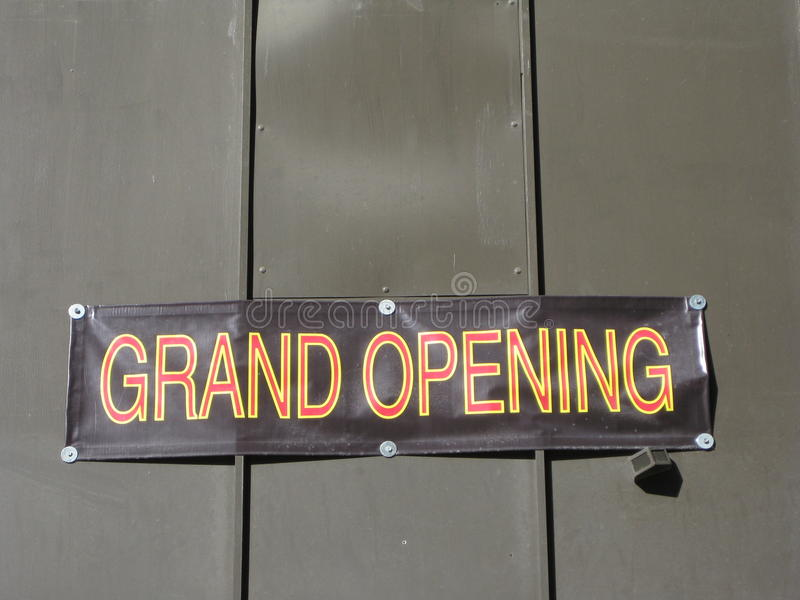 Download Grand Opening Royalty Free Stock Photos - Image: 20508138