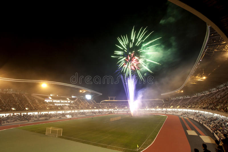 Grand opening of Cluj Arena royalty free stock photography