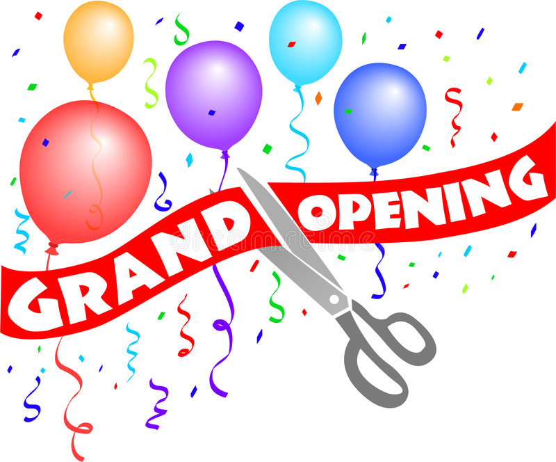 Image result for grand opening clipart