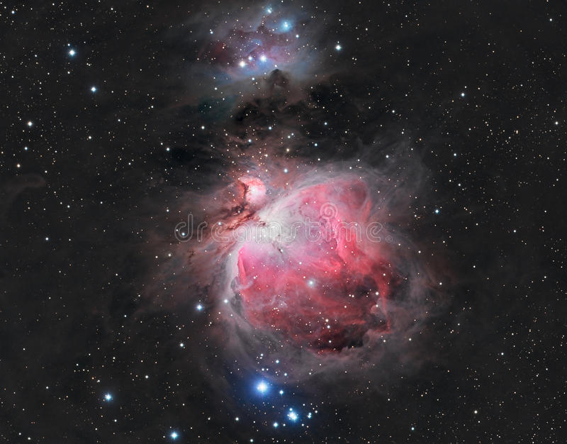 Grand Orion Nebula photographie stock libre de droits