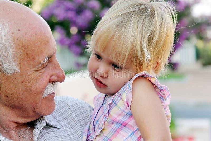 Grand-père photographie stock libre de droits