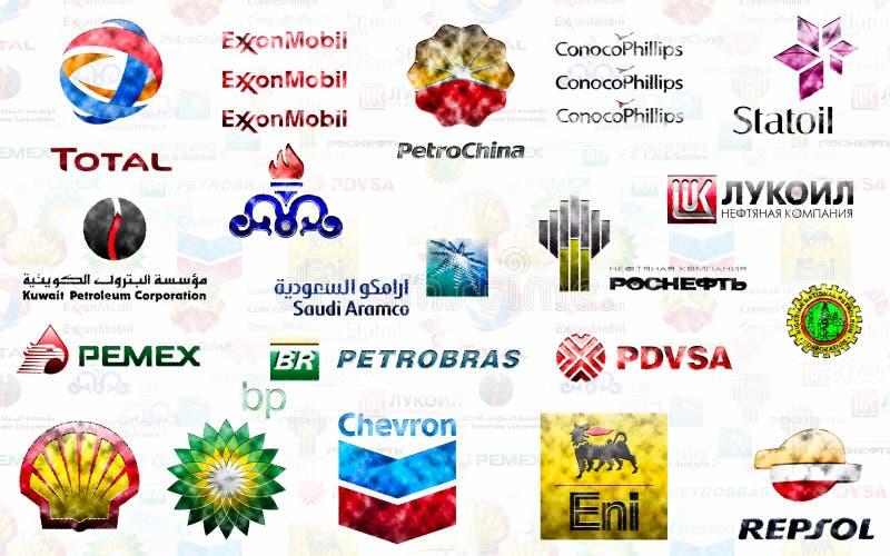 Grand pétrole illustration de vecteur