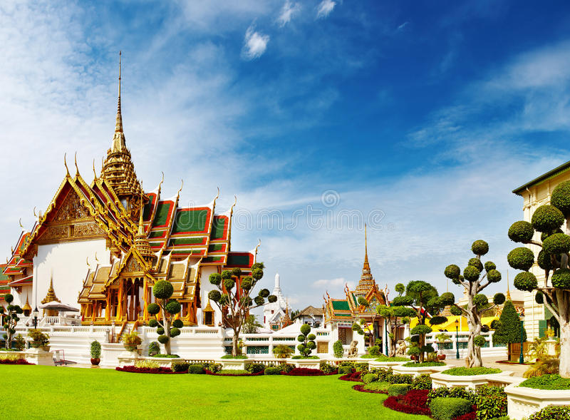 Grand Palace Bangkok Thailand stock photography
